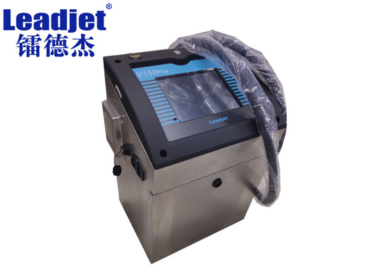 V150Plus Continuous Inkjet Printer For Coding Various Irregular Packaging