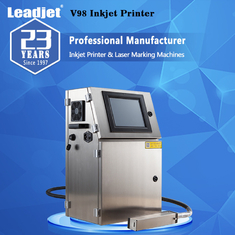 Date Coder Small Character Continuous Inkjet Printer Coding Machine For Industry